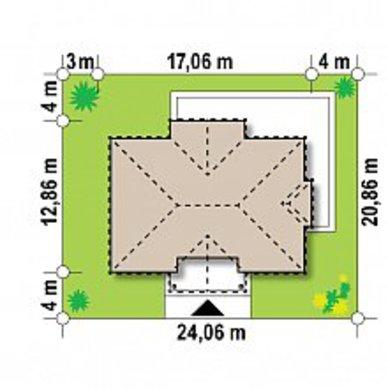 Представительный двухэтажный коттедж