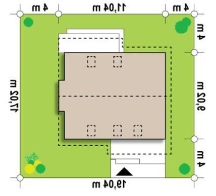Проект удобного дома с кабинетом на первом этаже