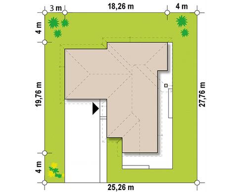 Просторный коттедж в современном стиле барнхаус