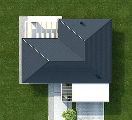 Проект эффектного жилого дома