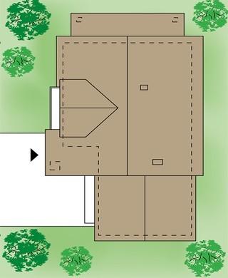 Восхитительный двухэтажный коттедж с гаражом на две машины