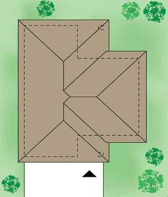 Привлекательный коттедж с просторными верандами