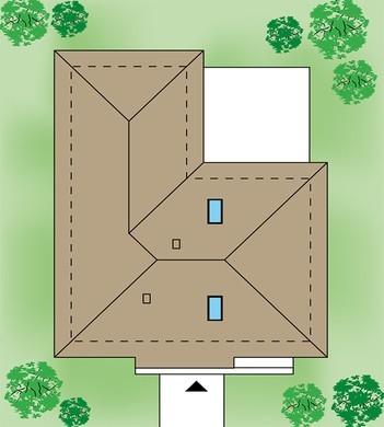 Стильный коттедж с защищенной верандой