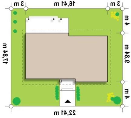 Проект одноэтажного дома с чердаком