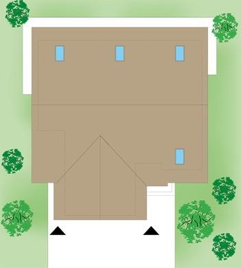 Современный загородный особняк с двумя гостиными
