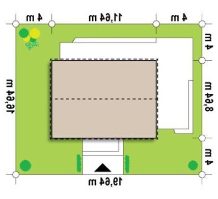 Проект классического коттеджа современной планировки