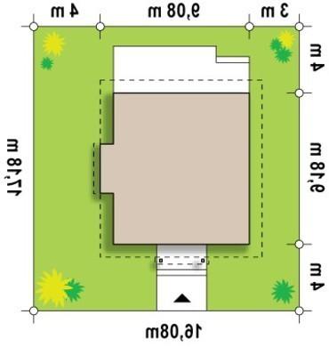 Компактный коттедж с кабинетом на первом этаже