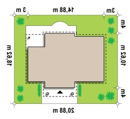 Проект дома в стиле дворянской усадьбы