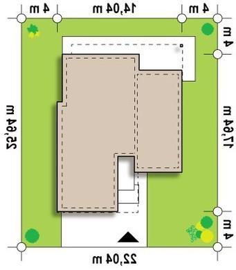 Проект дома модерн