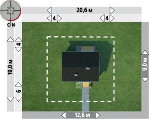 Пригожее строение небольшой площади