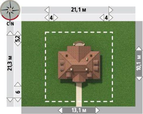 Классический особняк на 150 квадратов жилой площади