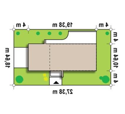 Проект современного коттеджа простой планировки