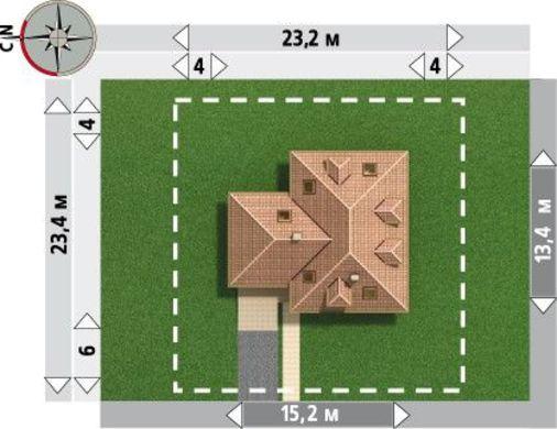 Сногсшибательная вилла с просторными комнатами и кухней
