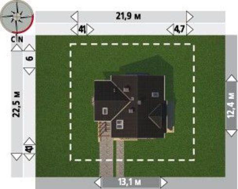 Роскошная загородная вилла с шестью непревзойденными комнатами