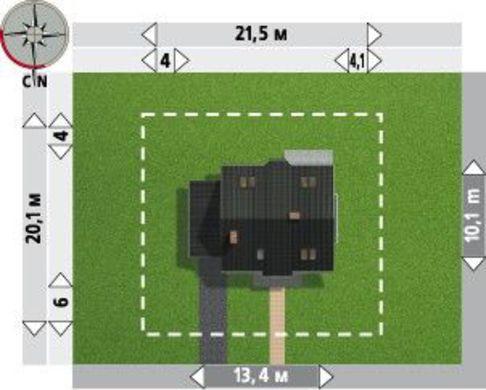 Симпатичный загородный особняк с пятью роскошными комнатами